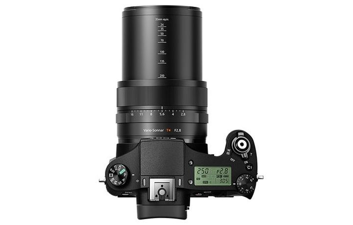 The announcement of Sony Cyber-shot DSC-RX10 II - ultrazoom with a large sensor