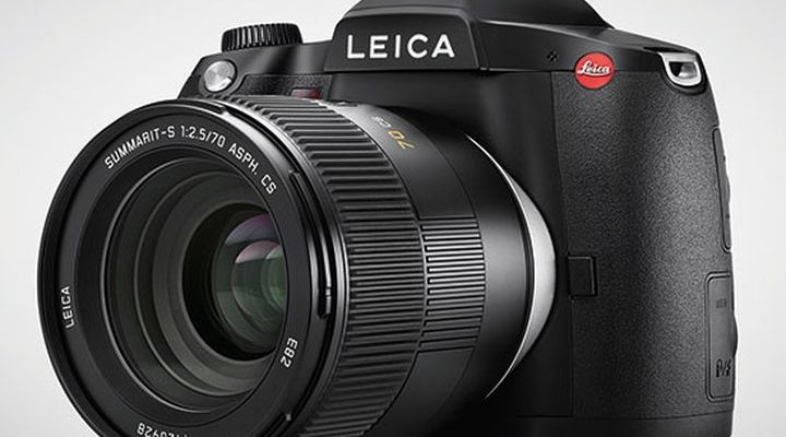 In July, will be on store shelves medium format camera Leica S (Type 007)