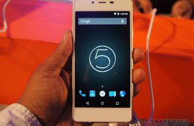 Micromax Canvas Sliver 5 - the thinnest smartphone without protruding elements