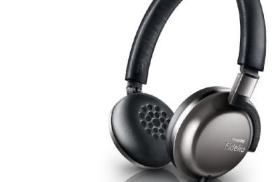 Ultra lightweight headphones Philips Fidelio F1