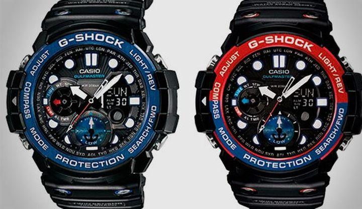 Как сделаны часы g-shock