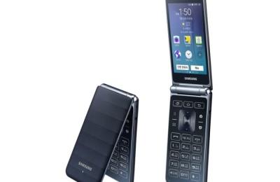 Samsung introduced a new Galaxy Folder (2015)