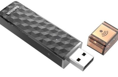 SanDisk Connect Wireless Stick - a portable storage device with Wi-Fi