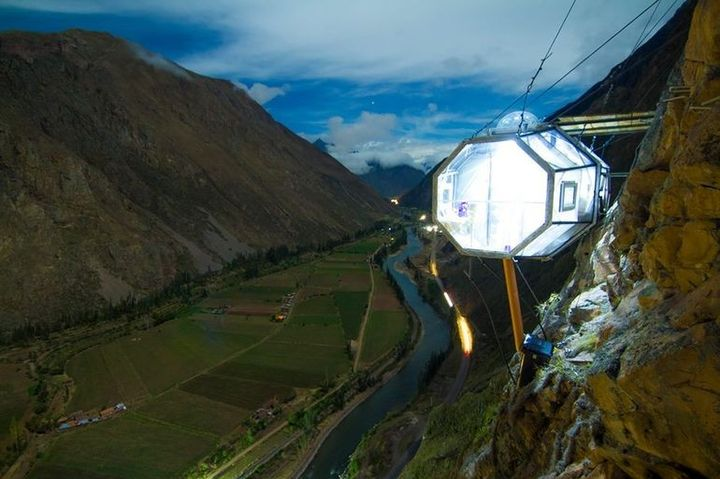 Skylodge Adventure Suites Sacred Valley Hotel On The Cliff