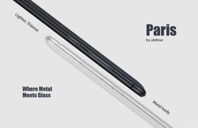 Announced Ulefone Paris specs
