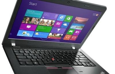 Lenovo ThinkPad E450 review - best business laptop