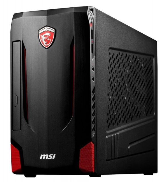 nightblade mi compact gaming pc case from msi. Black Bedroom Furniture Sets. Home Design Ideas