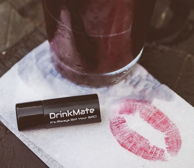 DrinkMate new miniature breathalyzer