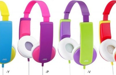 JVC Presented Headphones For Kids