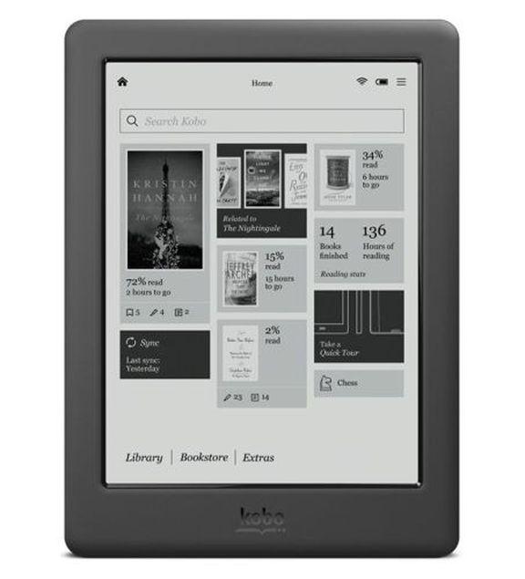 Kobo Touch 2.0 - cheap e-book for $ 70