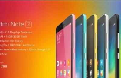 Xiaomi Redmi Note 2 sold over 1.5 million units