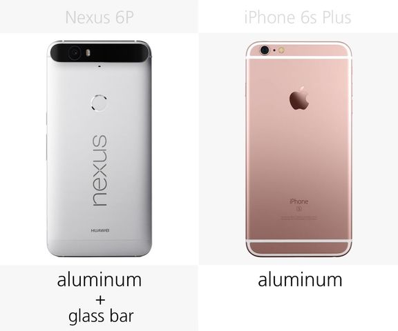 In late October, Google will begin deliveries of the new flagship Nexus 6P, which may be one of the best Android alternative to iPhone 6s Plus. Let's compare the features and characteristics of the Nexus 6P and iPhone 6s Plus.