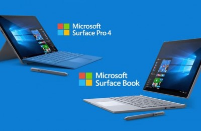 Microsoft introduced Surface Pro 4 and Surface Book