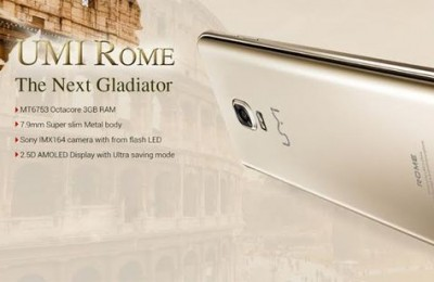 UMi Rome with 3 GB of memory can shake up the market with price of $89.99
