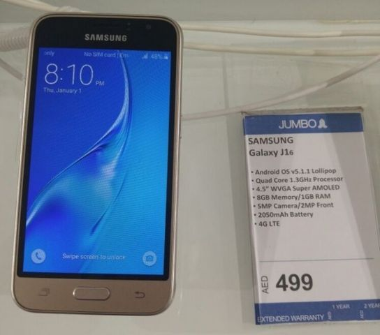 Review Samsung Galaxy J1 2016: updated version of budget smartphone