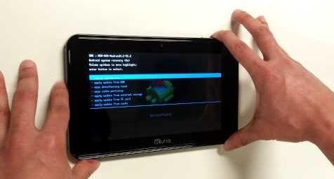 Hard reset Kurio 7 Tablet