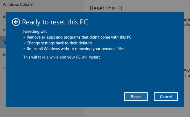 Hard reset Windows 10 laptop: return your computer to its
