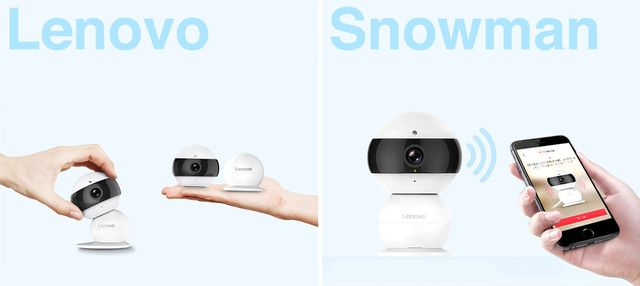 Lenovo Snowman - home wireless IP-camera for $30