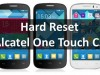 Hard Reset Alcatel One Touch C5