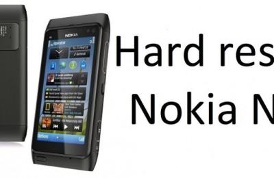 Hard reset Nokia N8: reset Symbian phone