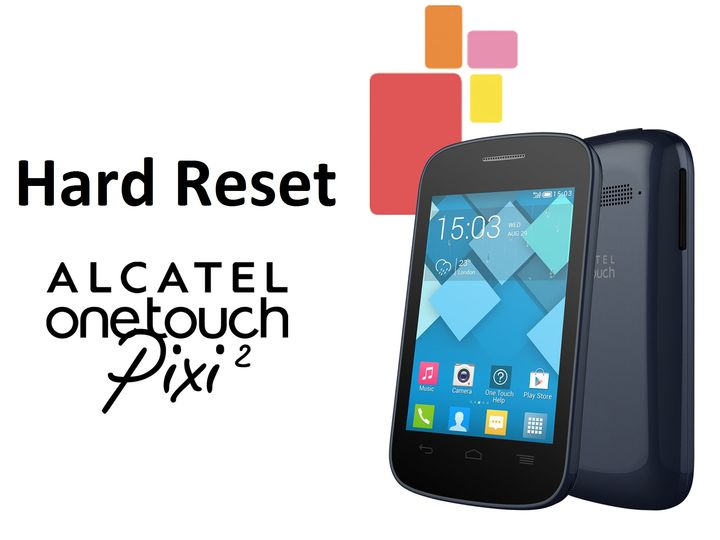 how to reset a alcatel