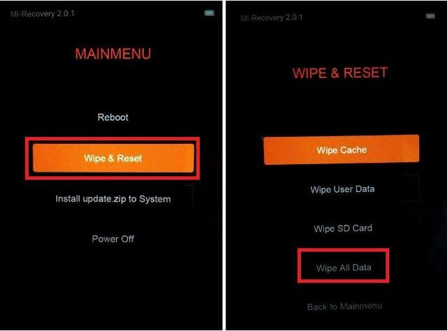 Cum resetez un telefon cu Android din modul Recovery 139