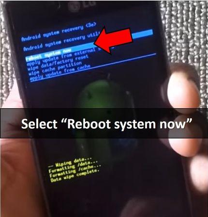 LG P705 hard reset: remove lock pattern LG Optimus L7
