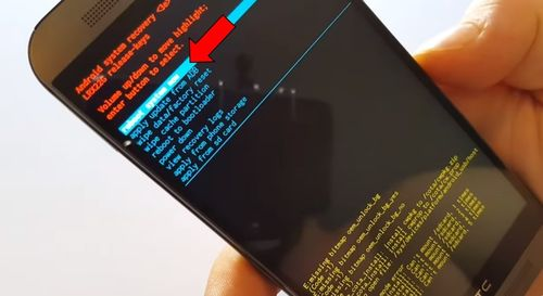 HTC One M9 Prime Camera hard reset