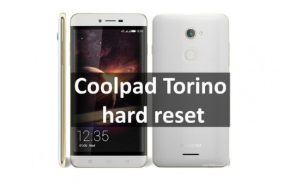 Coolpad Torino hard reset: restore factory settings on Chinese smartphone