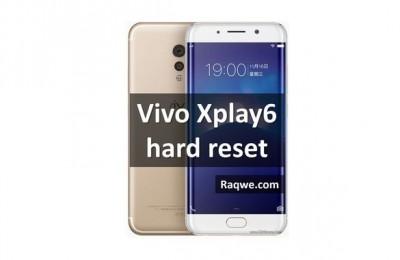 Vivo Xplay6 hard reset: restore phone and bypass lock pattern