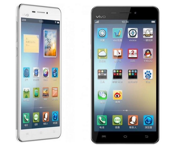 Vivo X3: smartphone with a thickness of 5.75 mm
