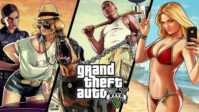 GTA V: main game of 2013