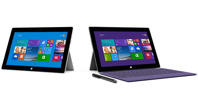 Microsoft Introduced A Tablet Surface 2 Surface Pro 2 And Accessories