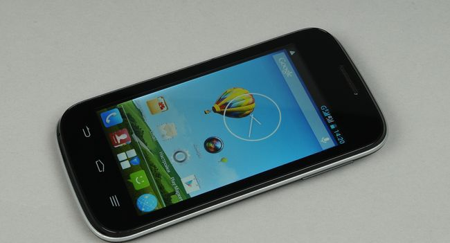 Quick review smartphone ZTE V809
