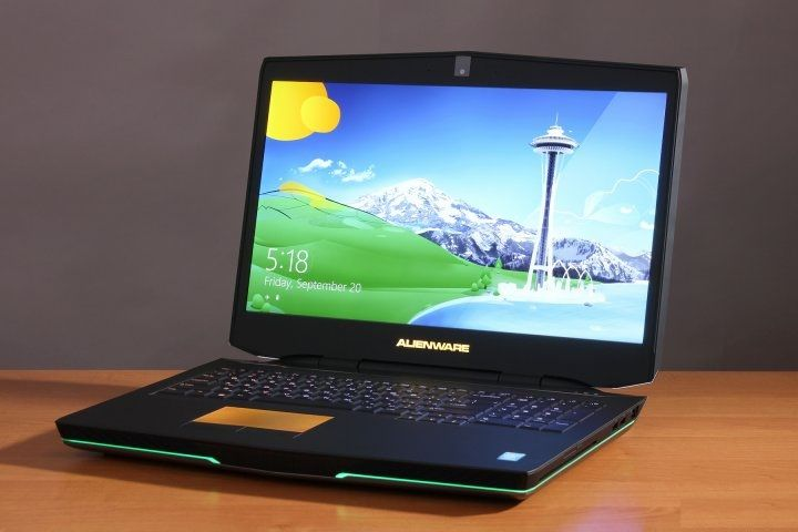 Review gaming laptop Alienware 17