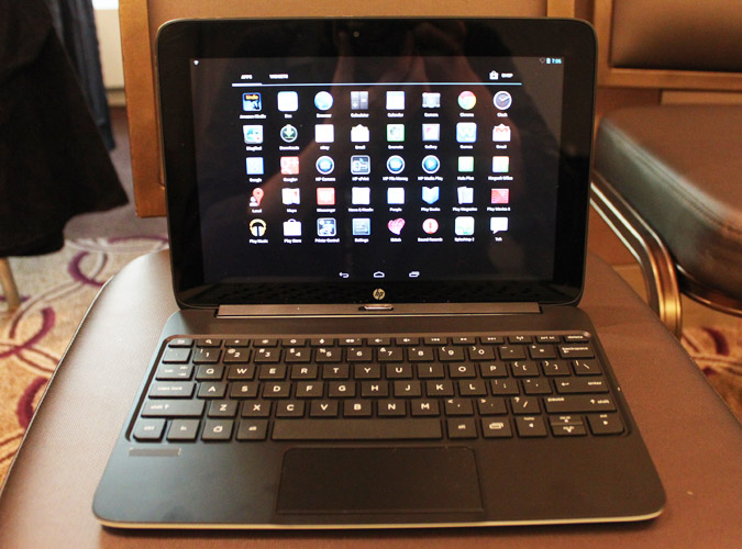 Review of tablet HP Slatebook x2