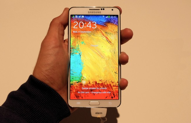 First look at the Samsung Galaxy Note 3