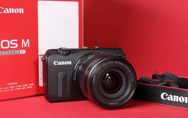 Review mirrorless camera Canon EOS M
