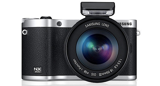 Samsung has released a new camera NX300 – NX300M