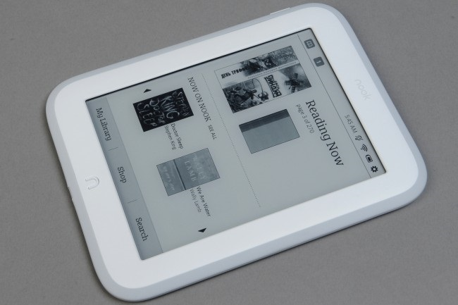 Review reader Barnes and Noble NOOK GlowLight