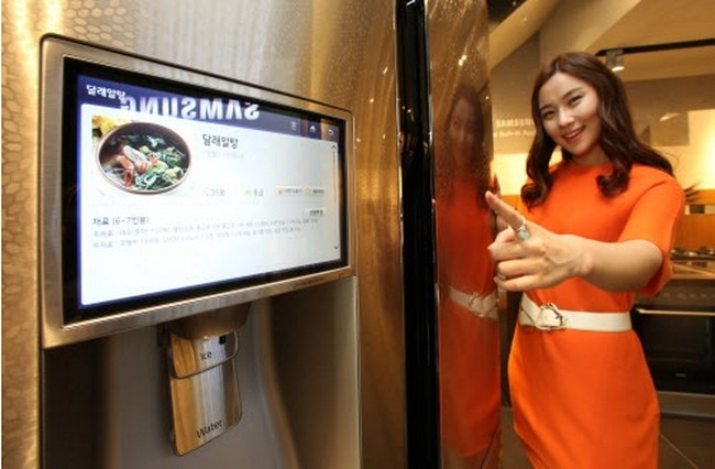 samsung-bring-exhibition-ces-2014-smart-refrigerator-based-tizen-os-raqwe.com-02