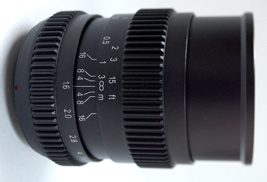 SLR Magic 17mm T1.6 Lens for Micro Four Thirds