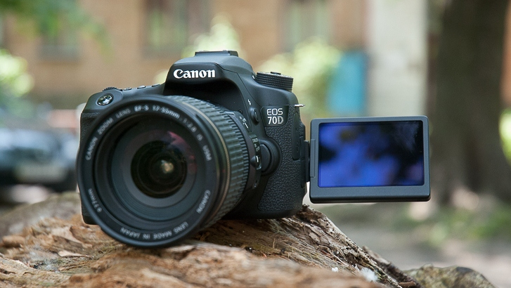 Review of Canon EOS 70D. Advanced DSLR enthusiasts