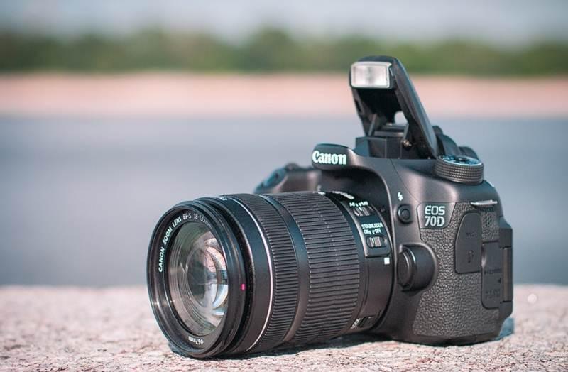 Review SLR camera Canon EOS 70D
