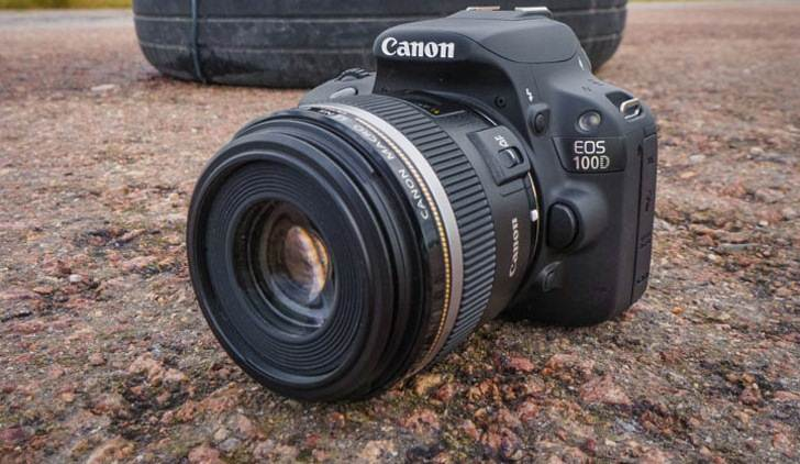 Review Canon EOS 100D – The smallest DSLR in the world