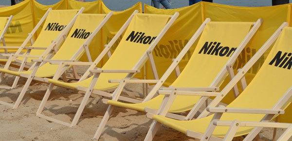 """I'm on vacation"" – campaign nikon in the baltic"