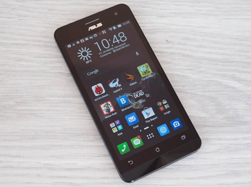 Review Asus Zenfone 5: in harmony with the world