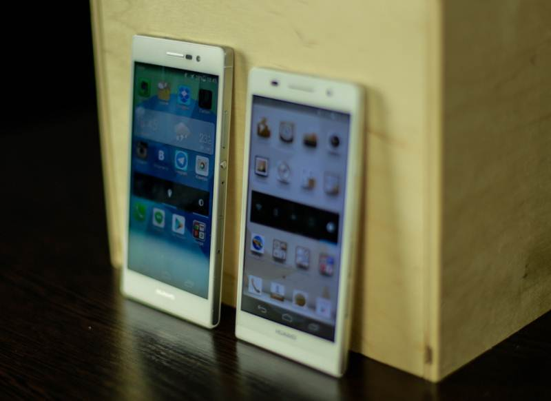 Smartphone review - Huawei Ascend P7