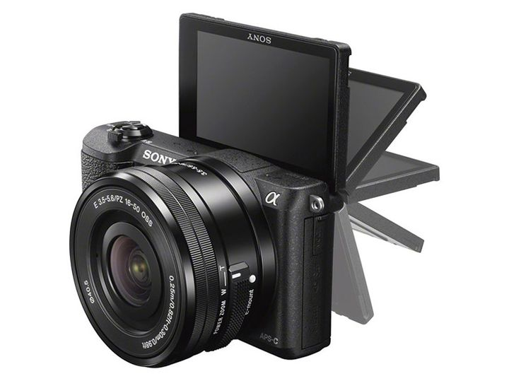 The announcement of Sony Alpha a5100