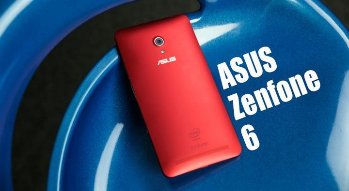 ASUS Zenfone 6. Huge. Red
